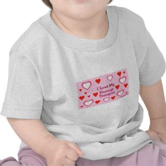 Hearts: Love My Massage Therapist Shirt
