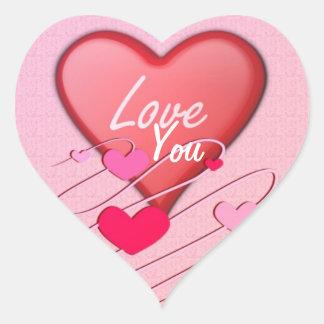 Hearts Love Sticker