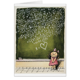 Hearts & Math Card