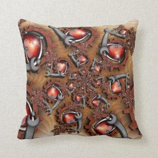 Heart's Mechanic American MoJo Pillow Throw Cushion