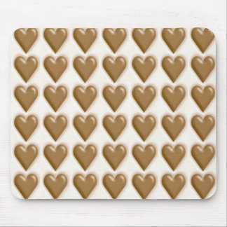 Hearts - Milk Chocolate and White Chocolate Mouse Pads