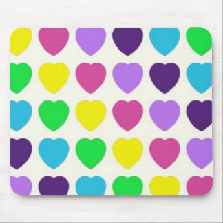 Hearts! Mouse Pad