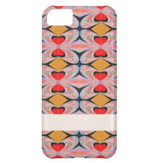 Hearts n Diamonds : Enjoy n Share Joy iPhone 5C Case