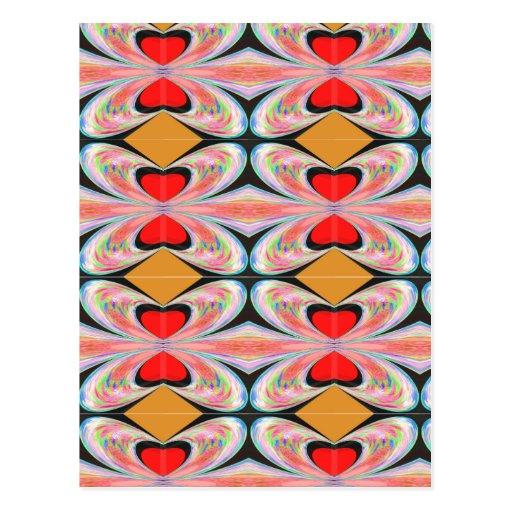 Hearts n Diamonds : Enjoy n Share Joy Post Card