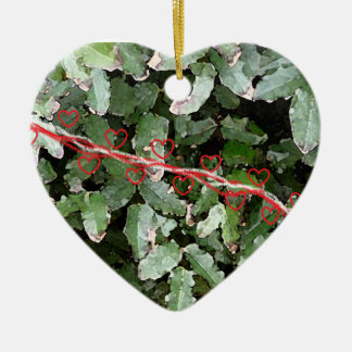 Hearts n' Holly Ornament