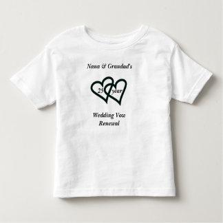 hearts, Nana & Grandad's 25      yearWedding Vo... T Shirt