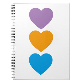Hearts Notebook