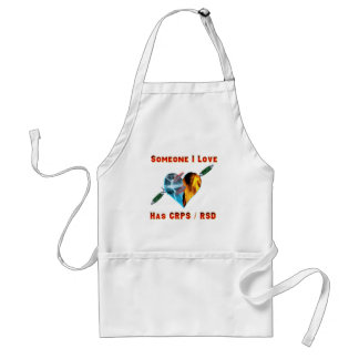 Hearts of Flame -- Fire & Ice Blades - Someone I l Standard Apron