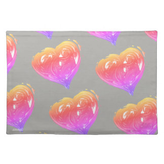 Hearts of Love Place Mat