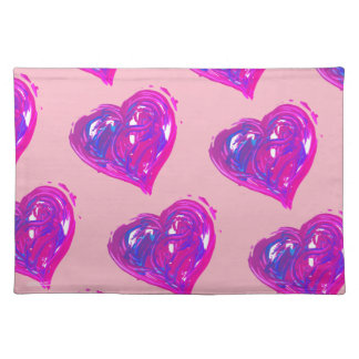 Hearts of Love Place Mats