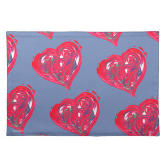 Hearts of Love Placemat
