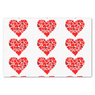 Hearts of Love tissue paper