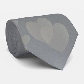 Hearts of Silver Necktie