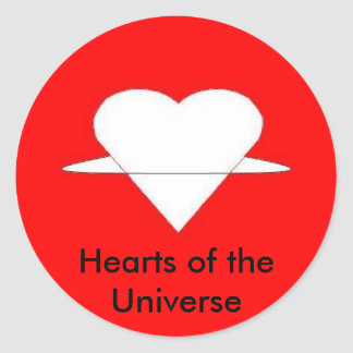 Hearts of the Universe Sticker