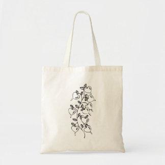 Hearts on a Vine Bag