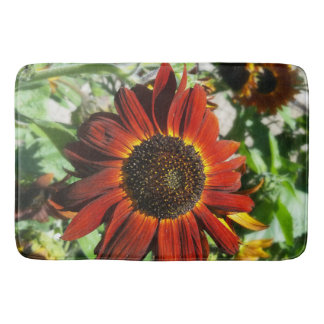 Hearts on Fire Sunflower Bathmat