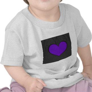 Hearts on Swirls T Shirt