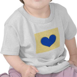 Hearts on Swirls Tee Shirts