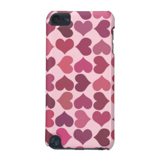Hearts Pattern iPod Touch (5th Generation) Covers