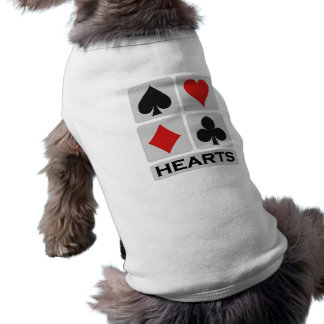 Hearts pet clothing