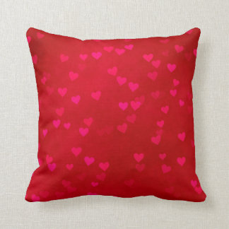 """Hearts Polyester Throw Pillow 16"""" x 16"""" Cushions"""