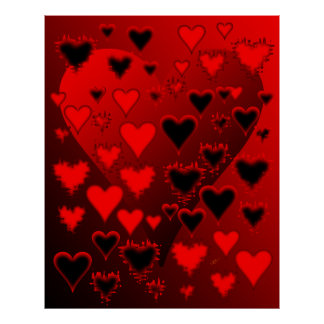 Hearts Posters