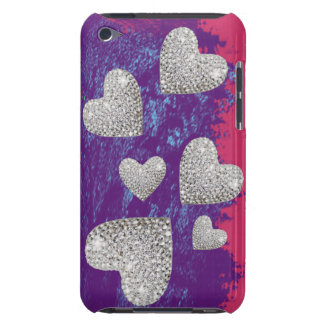 hearts print love iPod touch Case-Mate case
