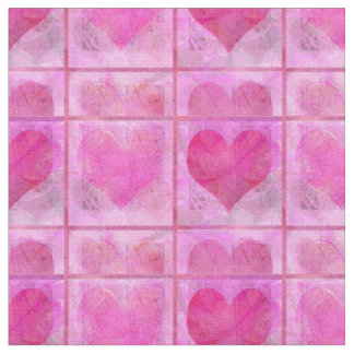 Hearts Quilt Fabric