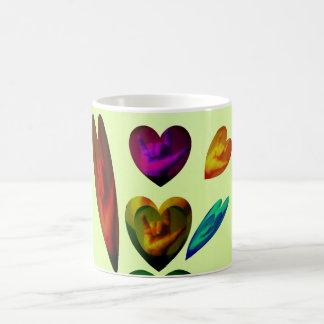 Hearts Speak I Love You Mugs