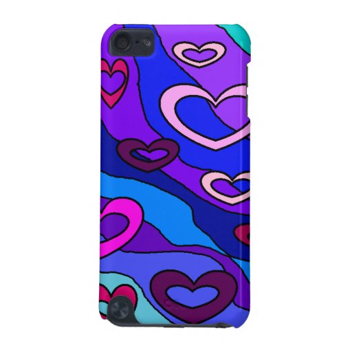 Hearts Speck Case for The IPod Touch iPod Touch 5G Cases