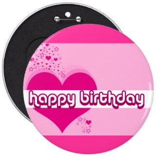 Hearts & Stars Happy Birthday Pin