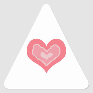 HEARTS TRIANGLE STICKERS