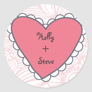 Hearts Sticker by TearDrop Weddings