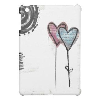 hearts surreal i pad case iPad mini cover