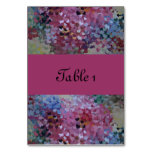 HEARTS TABLE CARDS
