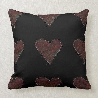Hearts Throw Pillow Cushions