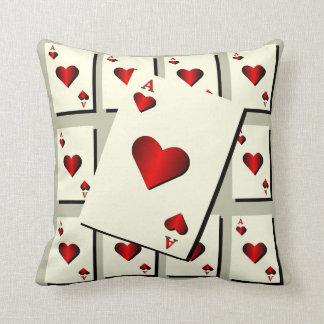 Hearts Throw Pillow Throw Cushion