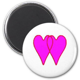 Hearts Together The MUSEUM Zazzle Gifts Fridge Magnet