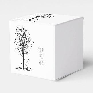 Hearts Tree Favour Box