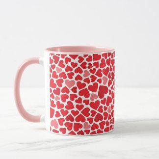 Hearts Valentines Love Mug