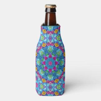 Hearts Vintage Kaleidoscope  Bottle Cooler