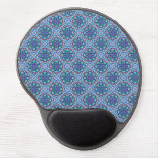 Hearts Vintage Kaleidoscope   Gel Mousepad Gel Mouse Mat