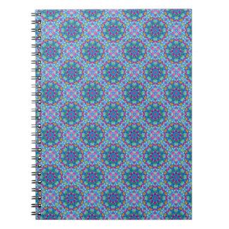Hearts Vintage Kaleidoscope   Notebook