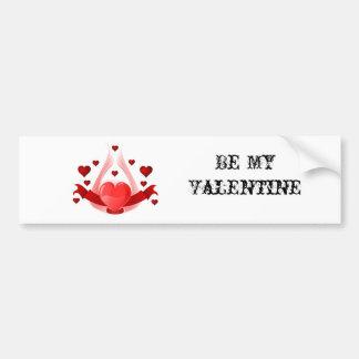 Hearts & Wings Bumper Sticker
