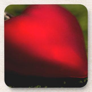 Heartshape Christmas Ornament Underlägg
