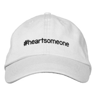 #HEARTSOMEONE Adjustable Hat Embroidered Baseball Caps