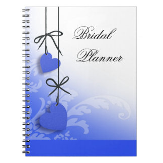 Heartstrings Bridal Planner cobalt Note Book