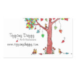 Heartstrings Double-Sided Standard Business Cards (Pack Of 100)