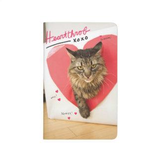 Heartthrob Cat Journal