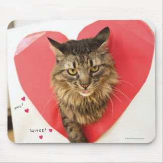 Heartthrob Cat Mouse Pad